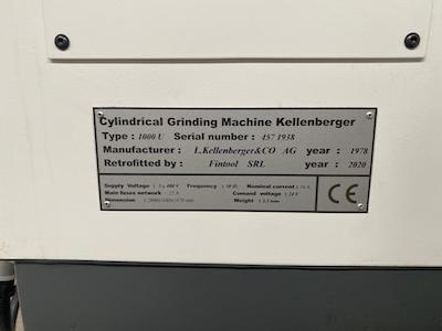 Kellenberger 1000 U